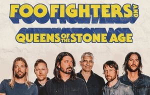 Foo Fighters inicia turnê no Brasil
